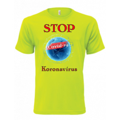 Koronavírus trička