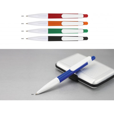 Plastové guľôčkové pero s...