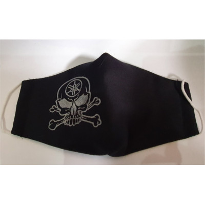 Szájvédő maszk  gépi hímzéssel
