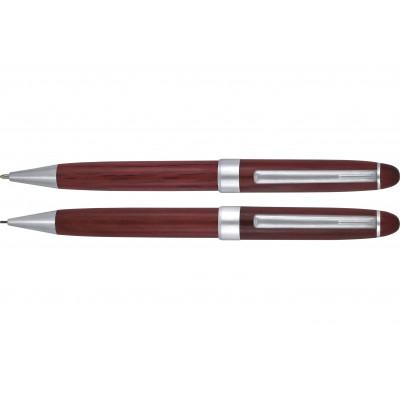 Drevené guľôčkové pero a...