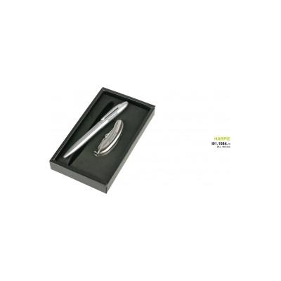 Guľôčkové pero a vreckový nôž