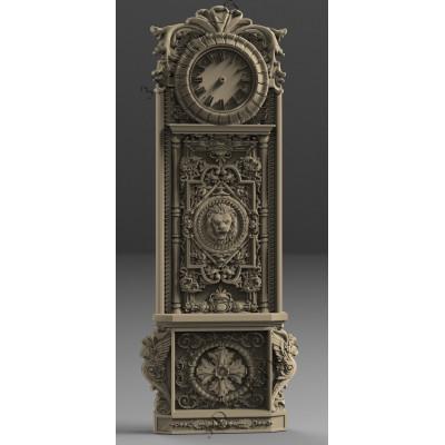 Vyrezávané hodiny z dreva