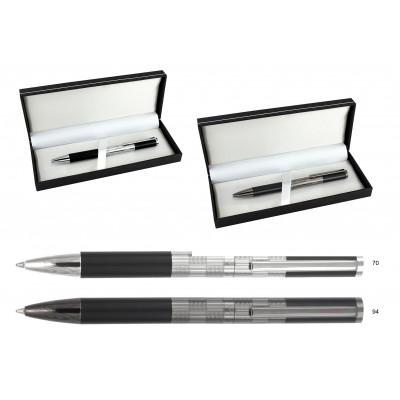 Luxusné kovové guľôčkové pero.
