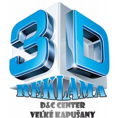 3D plexi písmená