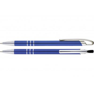 Hliníkové guľôčkové pero Deano