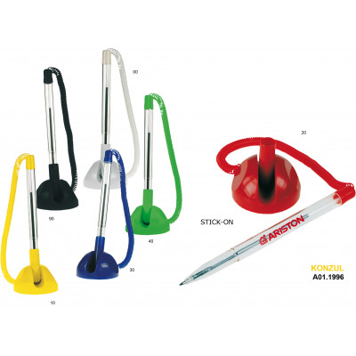 Plastové guľôčkové pero